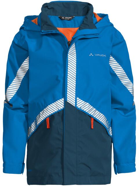 VAUDE Luminum II Jacket Kids radiate blue